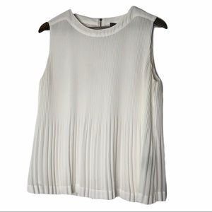 Vince Camuto Ivory Top - Size Medium